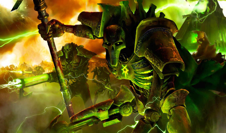 картинка, warhammer, necrons, игра, эпизод, games, necron, некроны, szh,