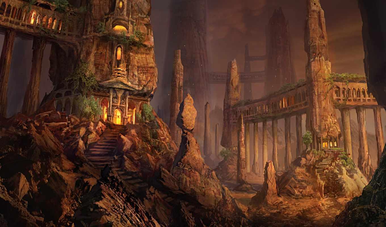 fantasy, art, city, final, download, free,