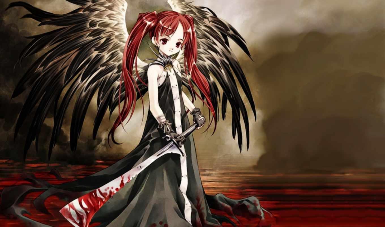 anime, кб, numbfil, episode, самые, девушка, крови, девушек,