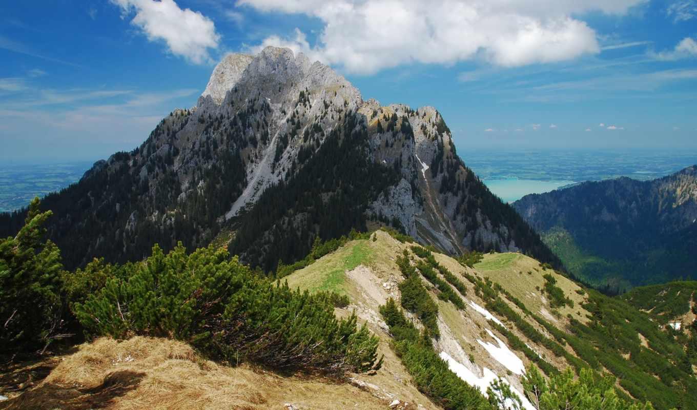 картинка, природа, горы, изображение, landscape, альпы,