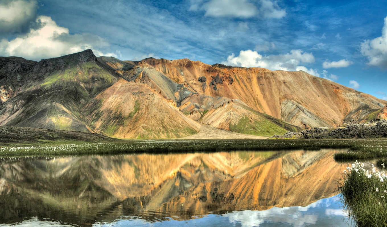alcatel, пейзажи -, красивые, от, дек, горы,