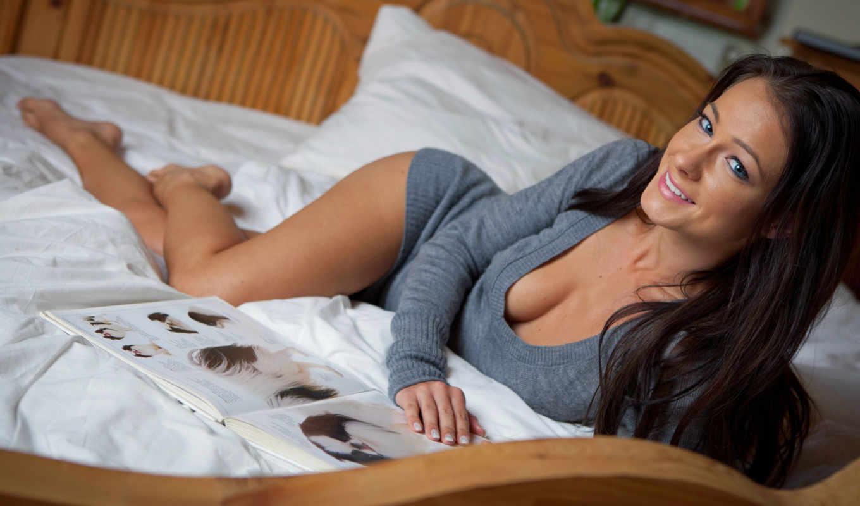 melisa, log, brunette, mendiny, mendini, голая, лежит,