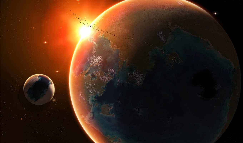land, космоса, cosmos, луна,