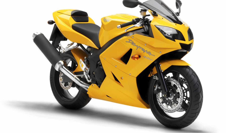 triumph, daytona, обзор, мотоцикл, high,