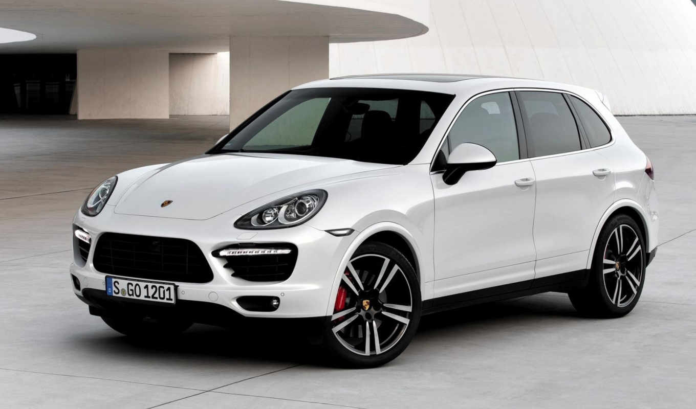 cayenne, turbo, car, new,