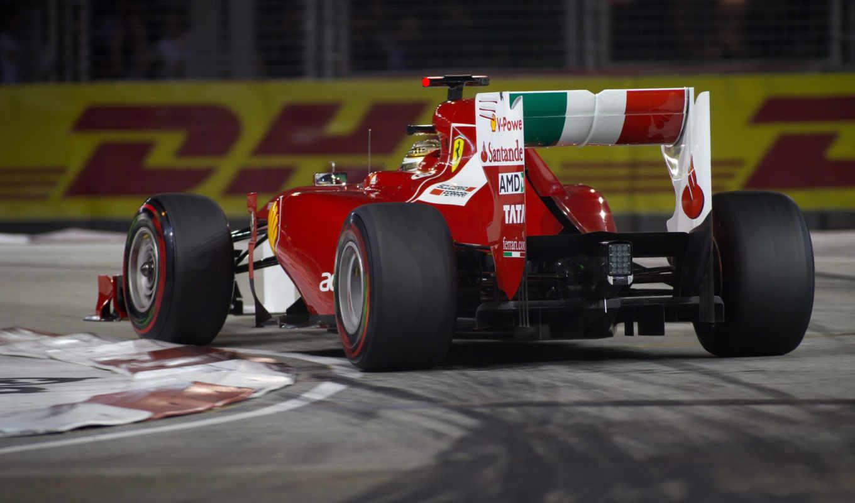 ferrari, cars, фернандо, alonso, formula, one, singapore, italian,