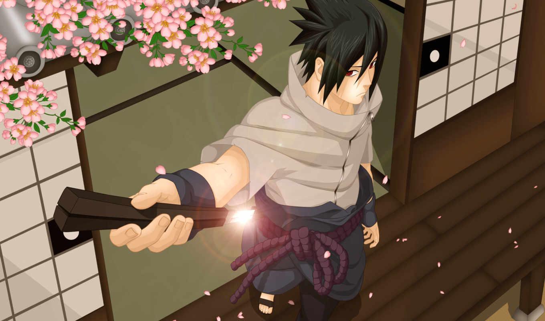 naruto, anime, учиха, sasuke, courage, большой, последний,
