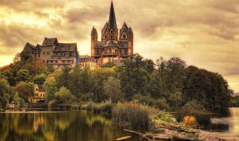 german, castle, города, cathedral, mobile, smartphone, телефон,