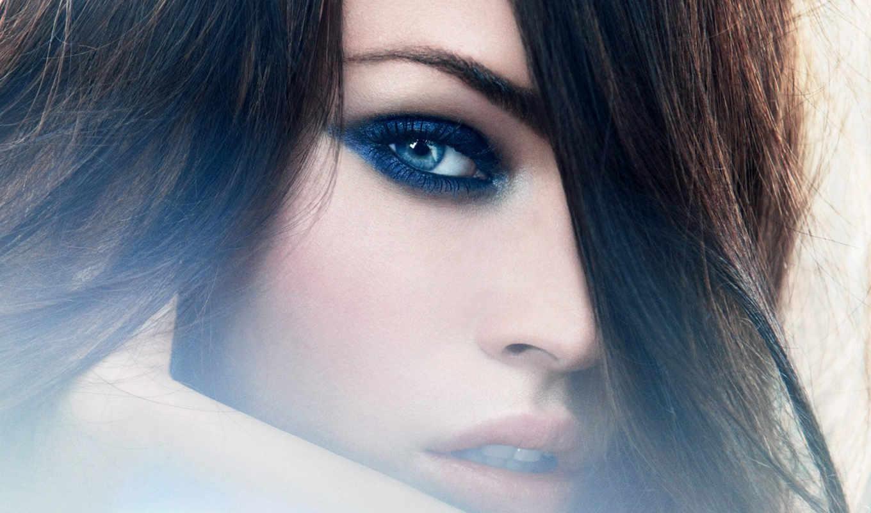 fox, megan, eye, makeup, armani, face, девушка, лицо, giorgio, взгляд,
