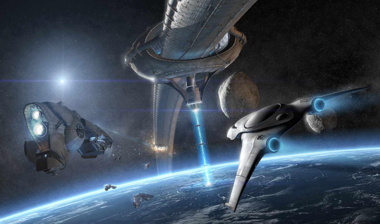 корабли, космос, корабль, орбита, planet, космическая, космические, era,