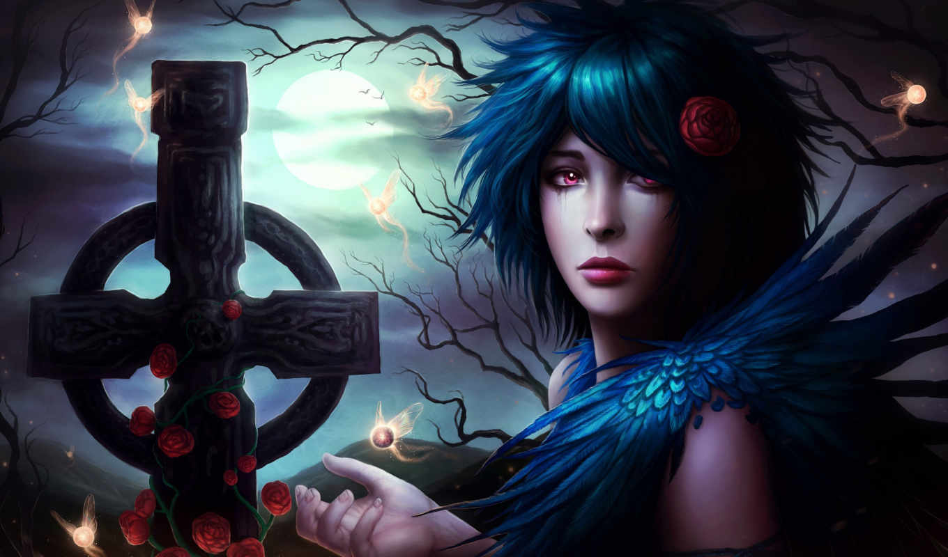 gothic, девушка, fantasy, more, see, об,