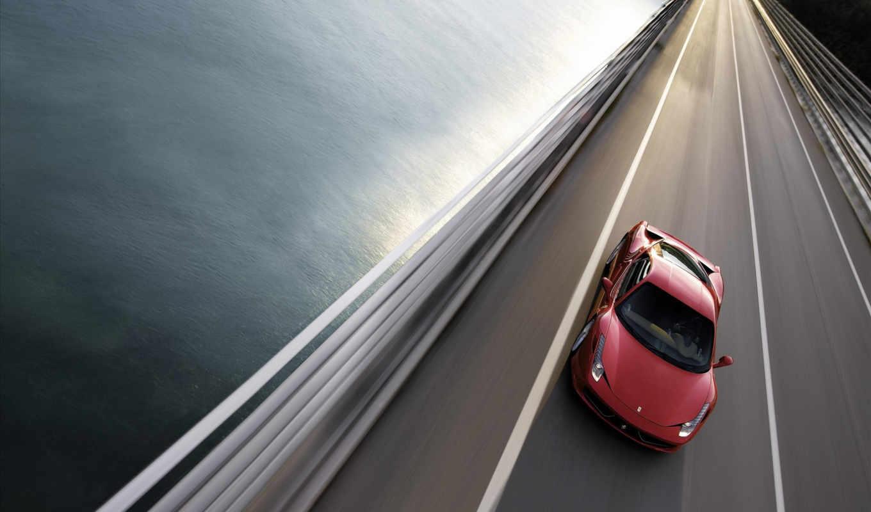 , ferrary, driving, карасная машира, скорость, спорткар,