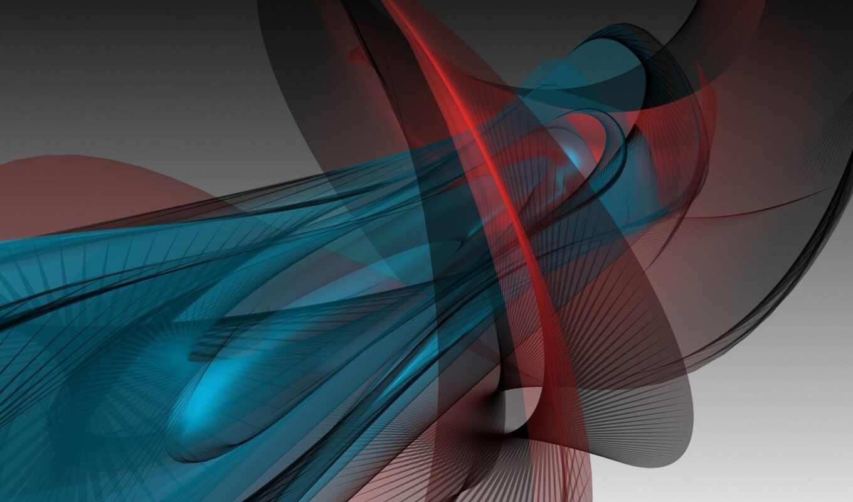 shape, свет, red, abstract, art, blue, ноутбук, телефон, рисунок