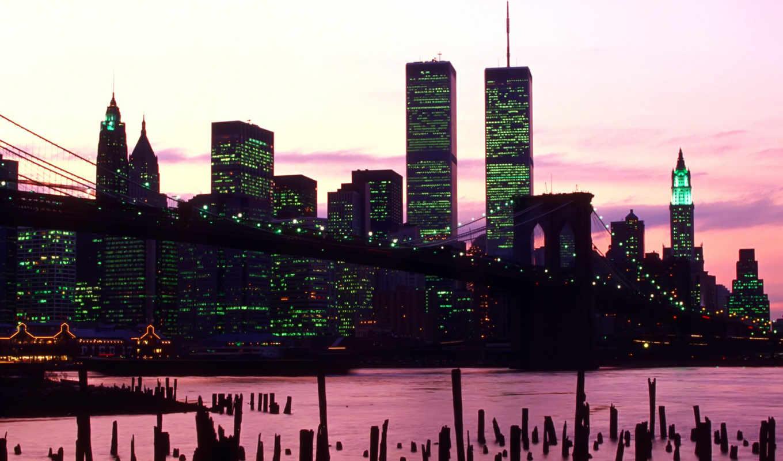 нью, york, города, город, ночь, ночные, new, сша,