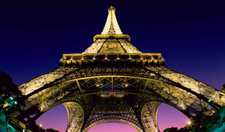 мото, города, картинок, париж, eiffel, коллекция, заставки, туры, башня, бездорожья, путешествий,