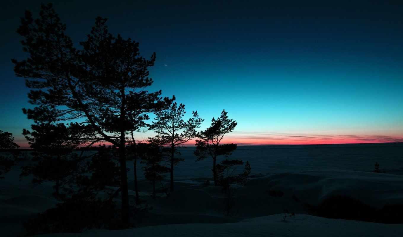 пейзажи -, online, рассвет, trees, landscapes, youtube, аудиокнига, наступил,