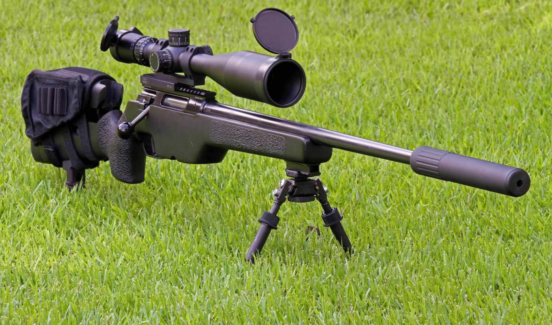 снайпер, винтовка, оружие, глушитель, optics, трава, suppressor, sakotrg,