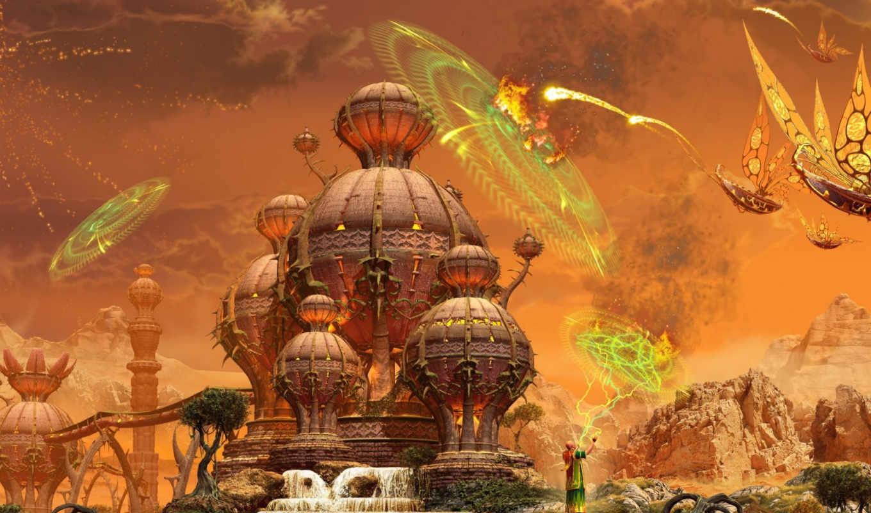 маг, еще, нападение, атаку, отражает, изображения, кб, оригинал, фэнтези, маги, сражение, добавил, пришельцев, прикрепленные,