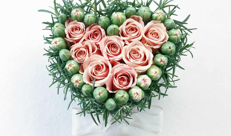 букет, шикарный, любимой, роз, имени,