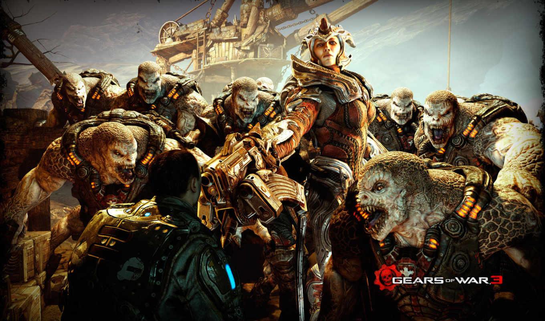 war, gears, ultimate, издание,