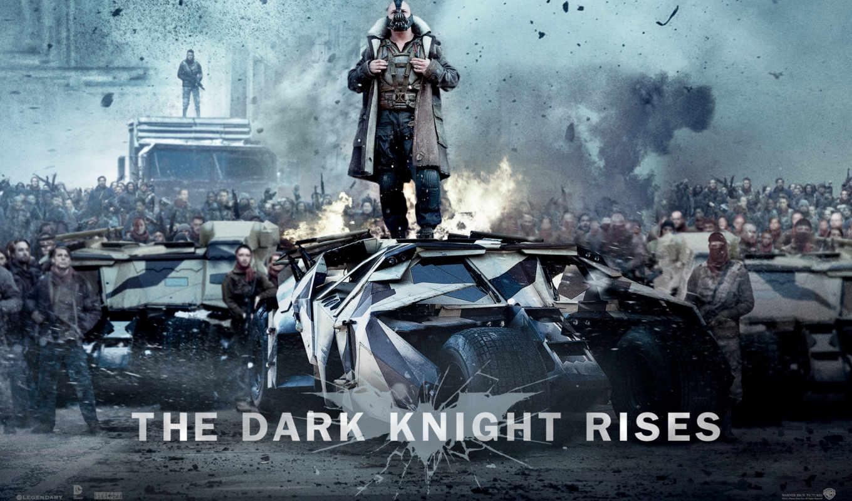 batman, dark, рыцарь, бане, rises, caballero, noche, movies,