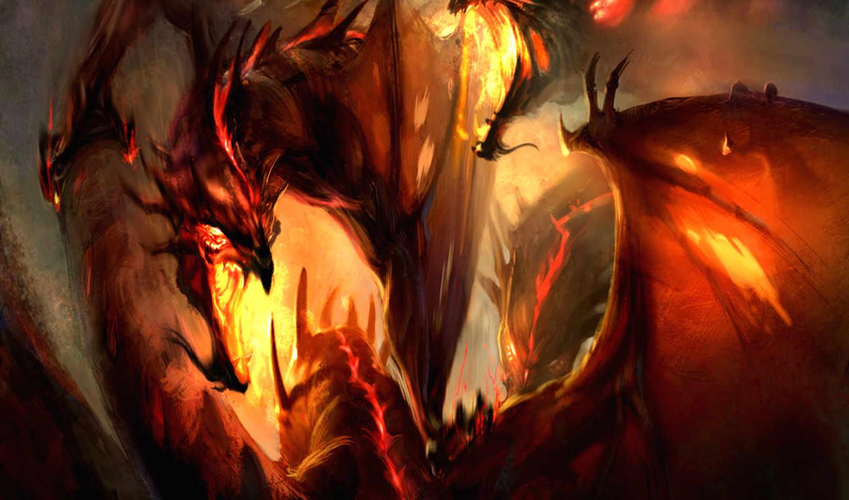 fantasy, драконы, телефон, картинку, дракон, страница, бесплатные, телефона, об, драконы,