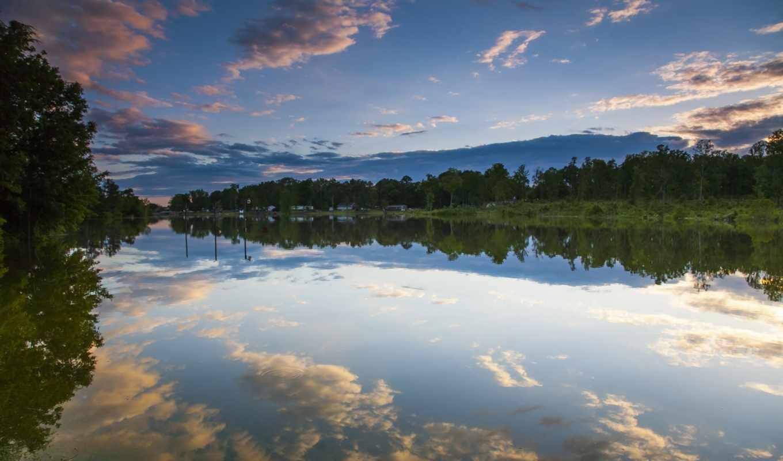 logan, martin, lake, alabama, отражение,