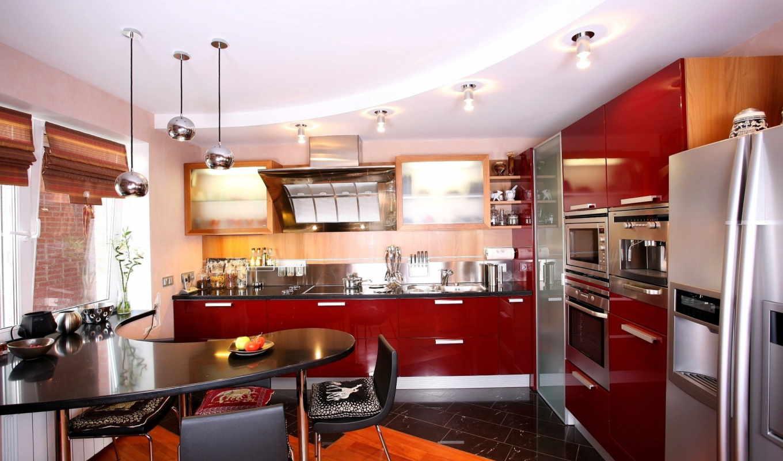 кухни, интерьера,