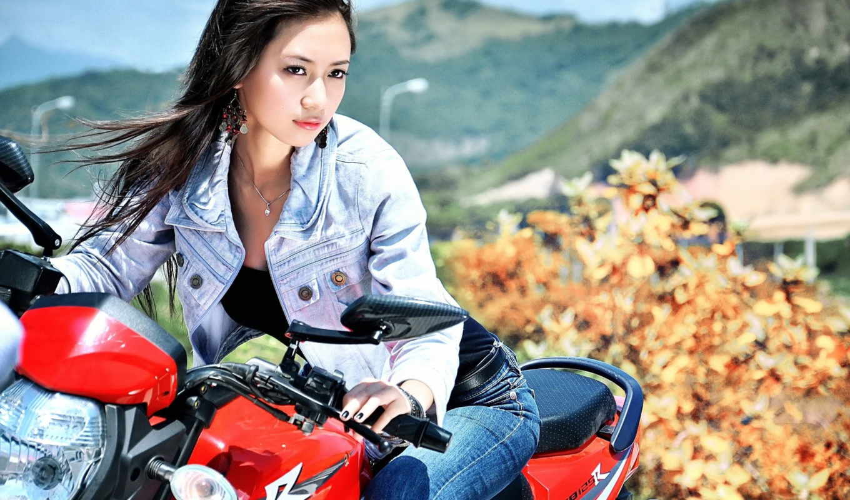 мотоцикл, www, высоком, качестве, iloved, kobieta,