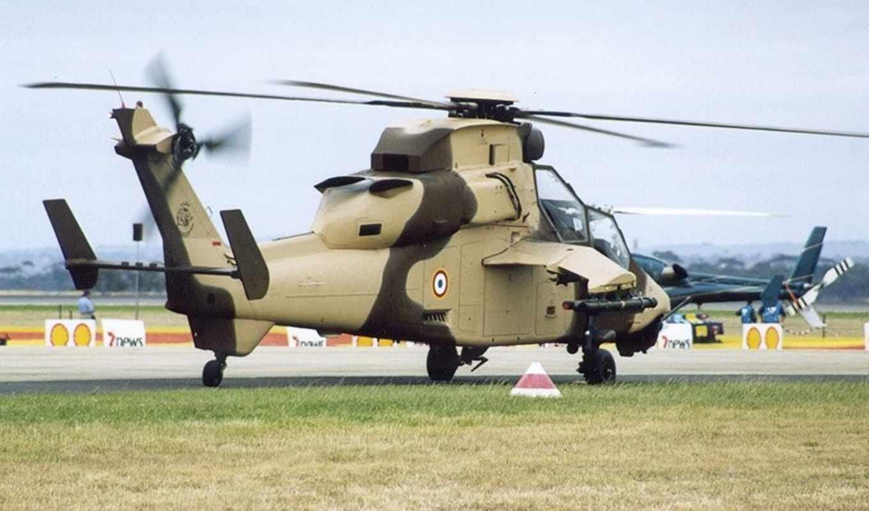 вертолет, тигр, военный, самолёт, attack, армия, rotor, eurocopter