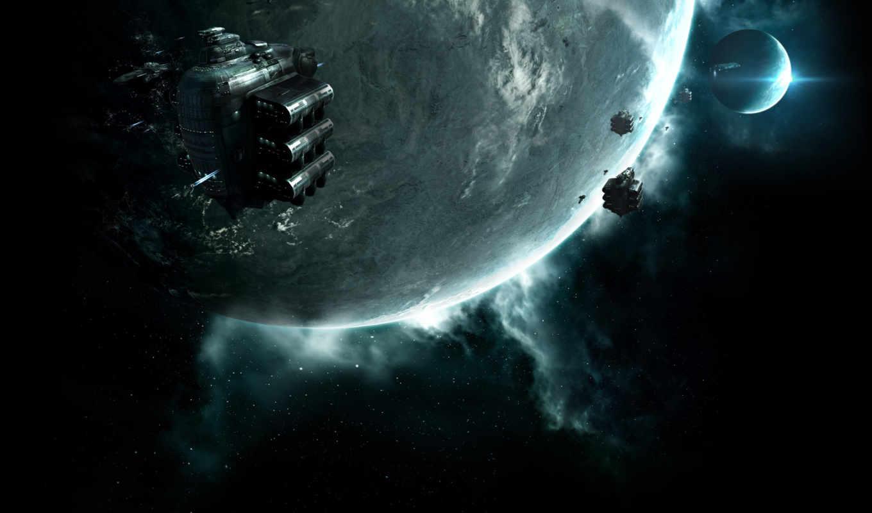 космос, планета, корабли, картинка, online, eve, planets,