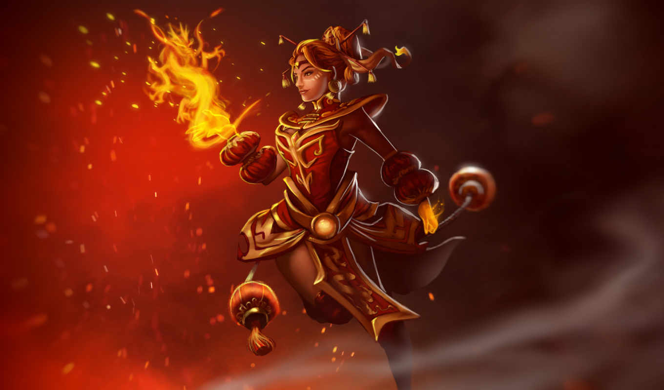 dragonfire, dota, lina, предметы,