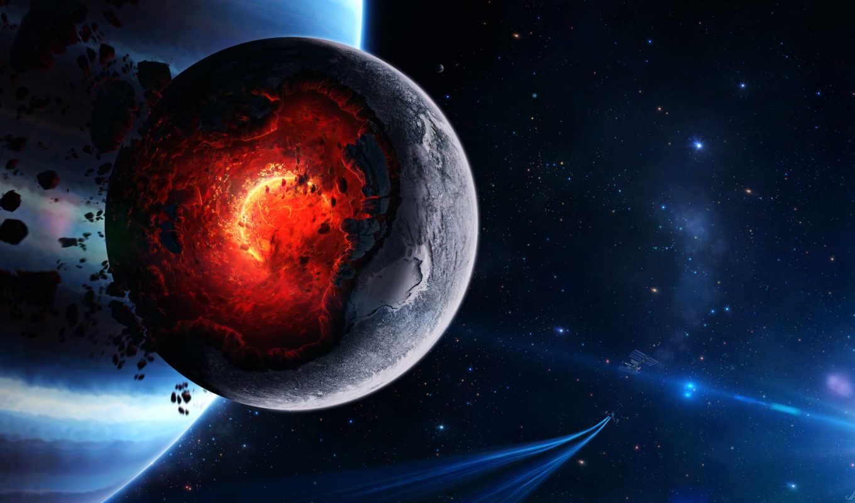 cosmos, planet, широкоформатные,