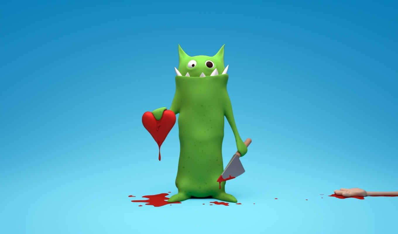 сердце, place, sper, you, любовь, картинка, волк, wallpapere, зелёный, desktop,