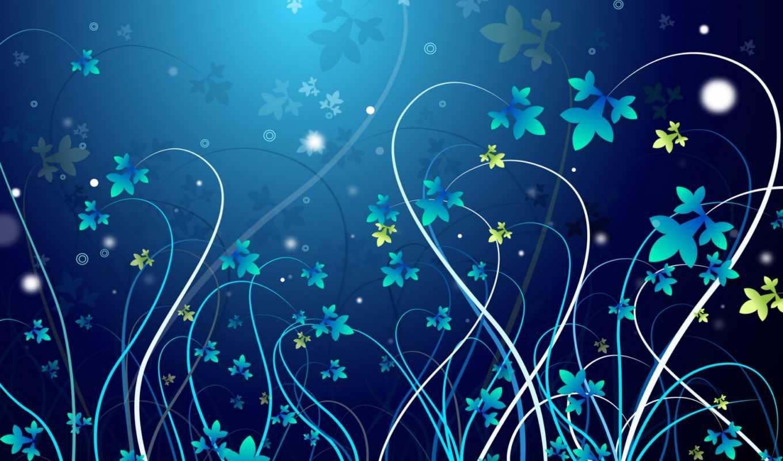 абстракция, цветы, flowers, pattern, abstract,