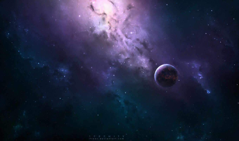 космос, арт, планеты, planets, universe, serenity,