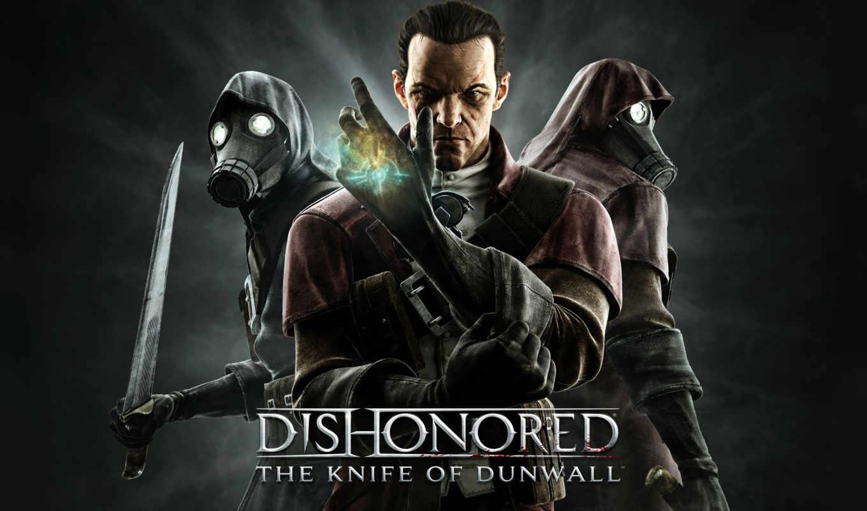 dishonored, нож, dunwall,