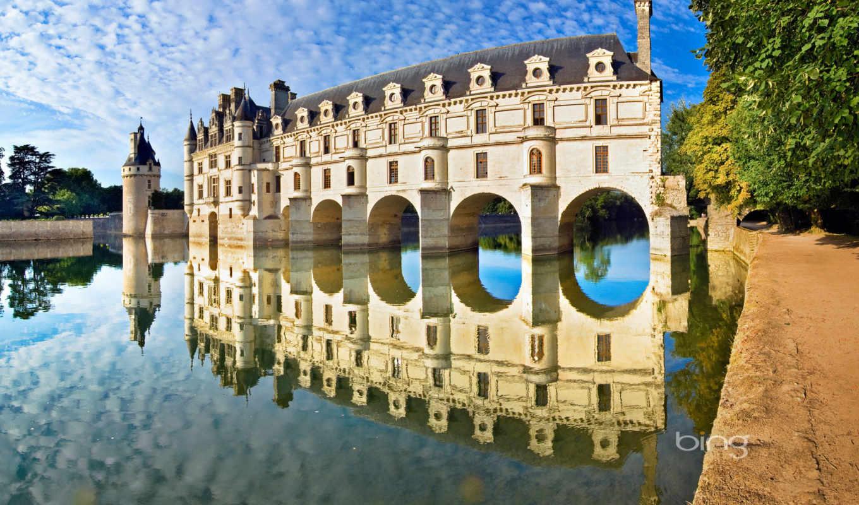 луары, castle, loire, reki, река, шенонсо, франция, долина, замки, замков, cher,