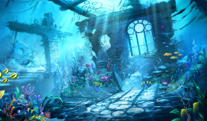 underwater, world, категория, art, getbg, click, скачано, добавил, admin, метки,