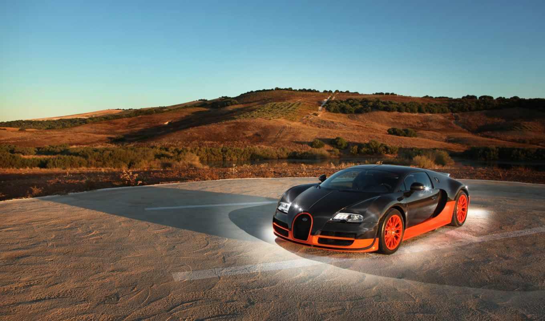 bugatti, veyron, спорт, супер,