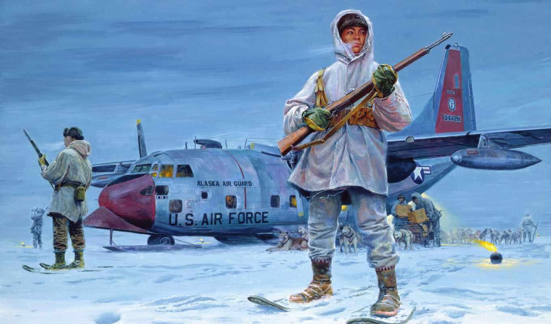 mort, kunstler, стражи, аляска, эскимосы, севера, рисунок, снег, картинка,