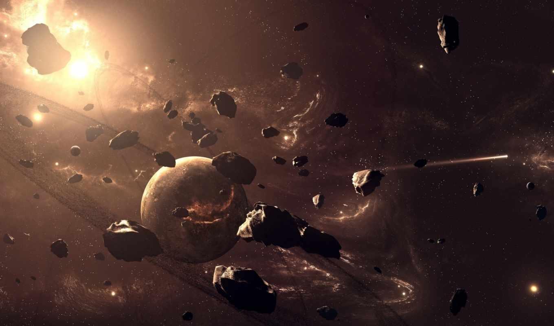 планеты, asteroids, метеориты, игра,