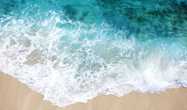 море, песок, пляж, пенка, white,