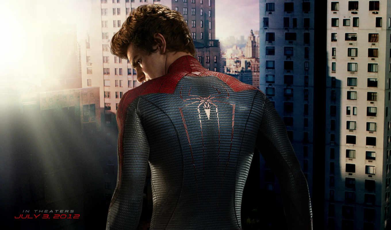 new, мужчина, паук, фильма, человека, паука, рамочка, amazing, портале,