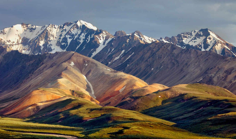 горы, холмы, небо, пейзажи -,