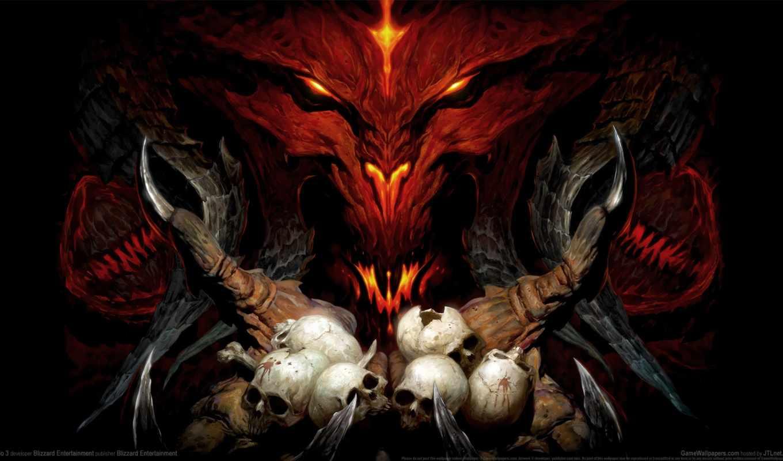 diablo, iii, игры, reaper,
