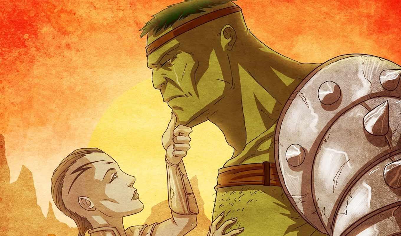 hulk, planet, marvel, зелёный, comics, caiera, шрам, комикс,