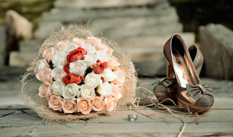 кольца, розы, букет, цветы, картинка, свадебный, свадебные, букеты,