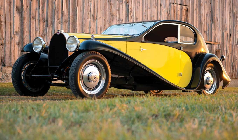 bugatti, вид, coupe, избранных,
