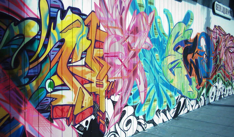art, фон, graffito, улица, unsplash